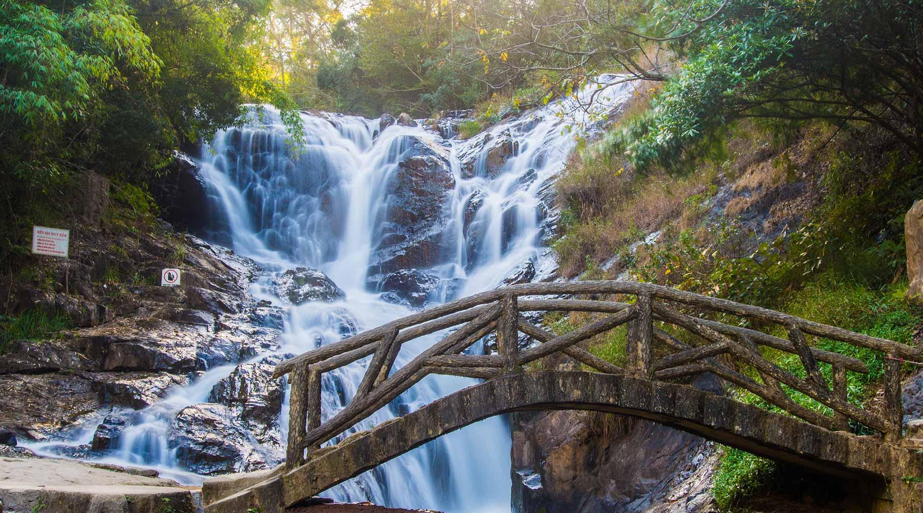 Datanla waterval in Dalat: canyoning, achtbaan en kabelbaan
