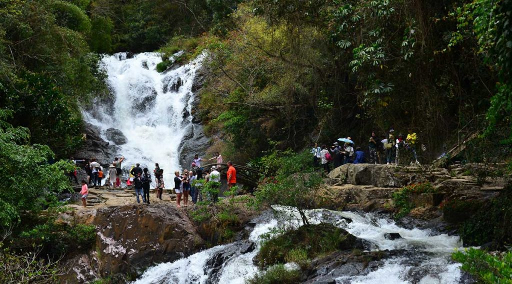 Datanla waterval in Dalat