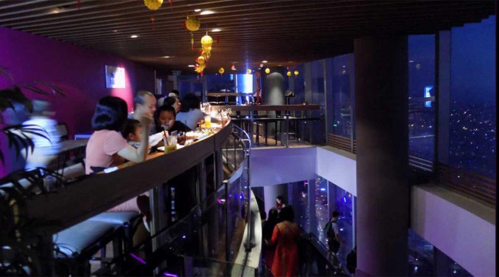 EON cafe en restaurant in Bitexco