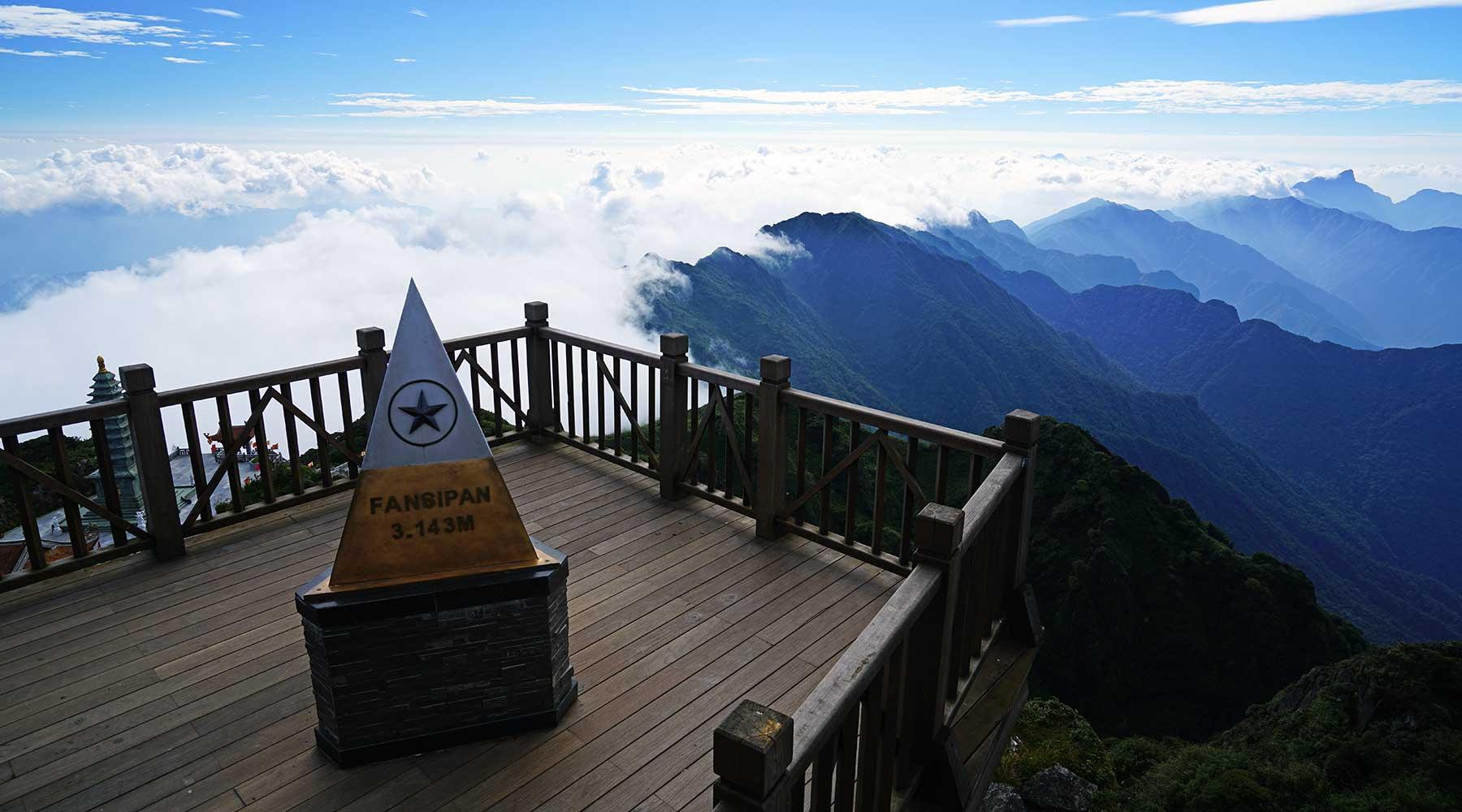 Fansipan in Sapa: Beklimmen of kabelbaan?