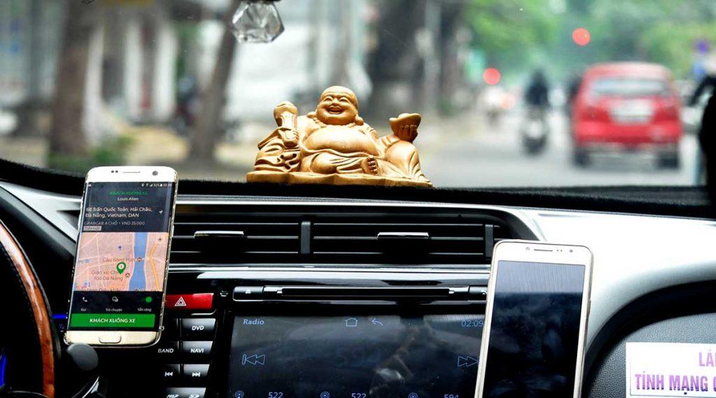 Grab taxi in Vietnam