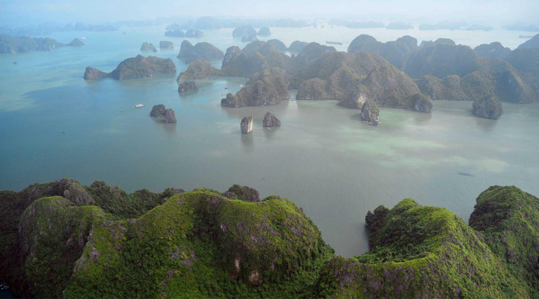 Halong Bay viewpoint