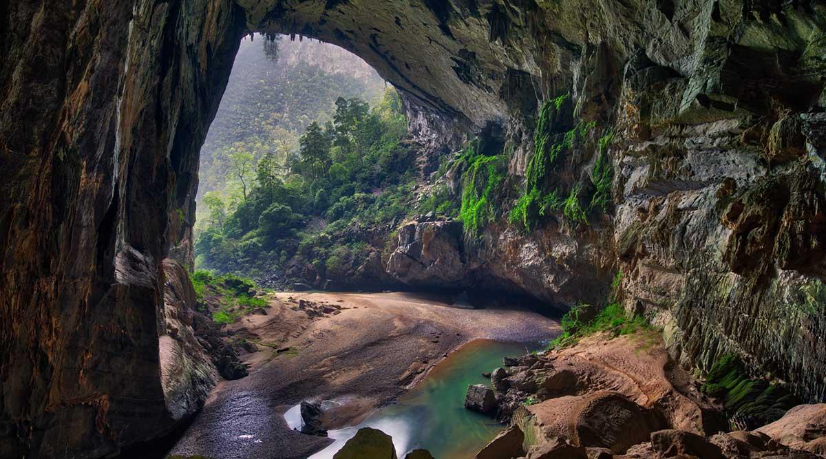Hang En grot in Phong Nha