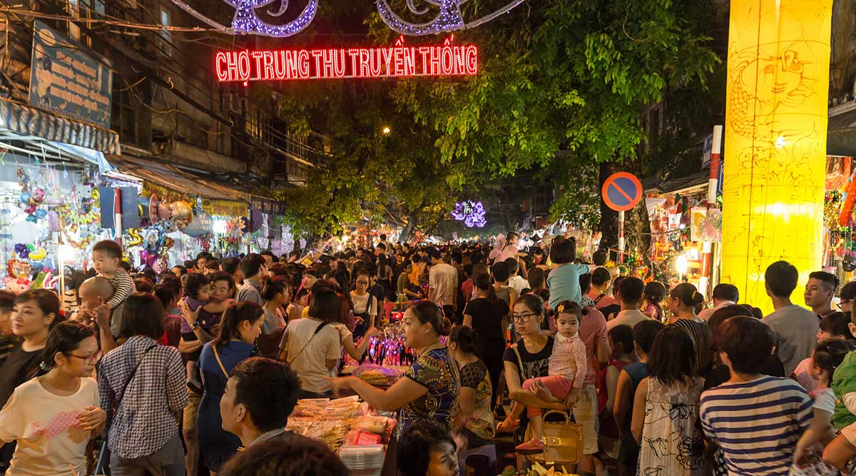 Hanoi Weekend Night Market