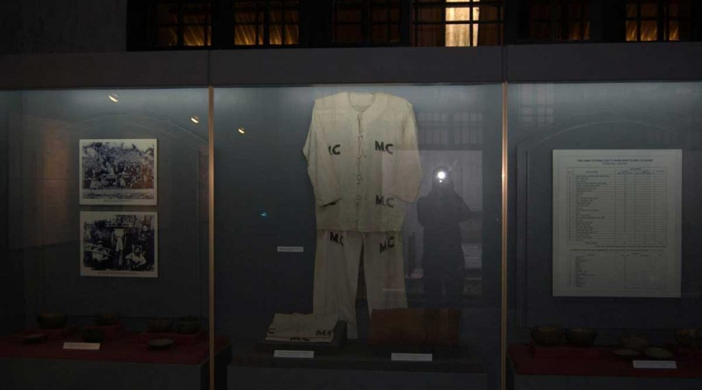 Hoa Lo gevangenis museum in Hanoi