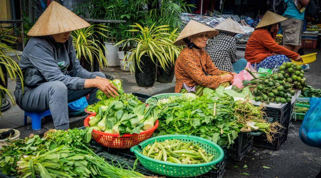 Markten in Hoi An