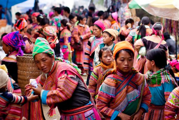 markten rond Sapa