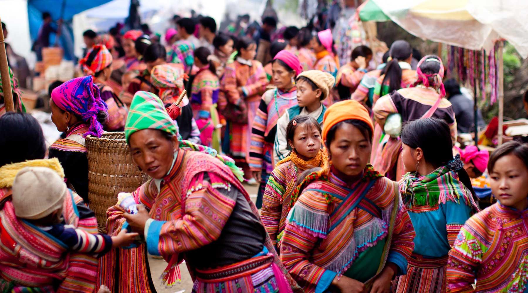 Top 8 leukste markten rond Sapa
