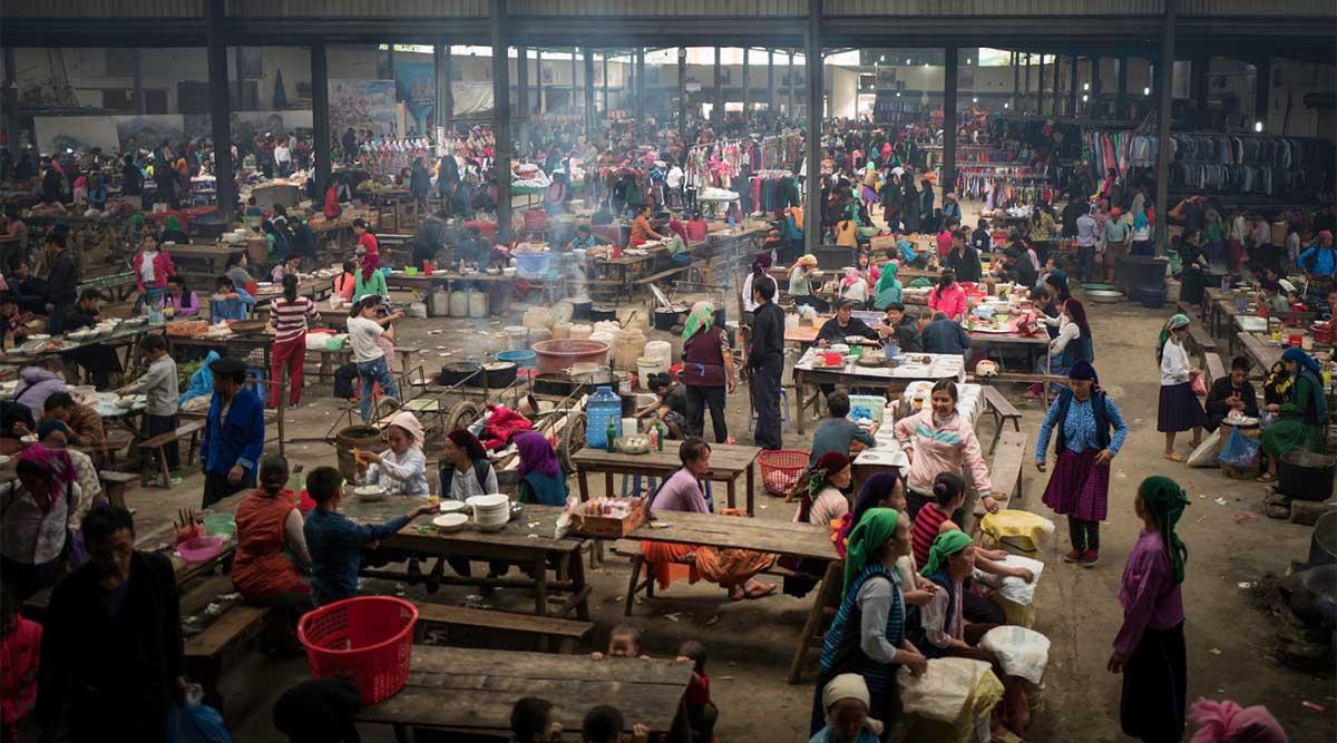 Meo Vac overdekte markt