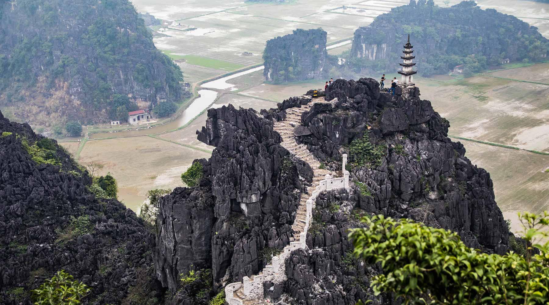 Mua Cave: het mooiste viewpoint van Ninh Binh