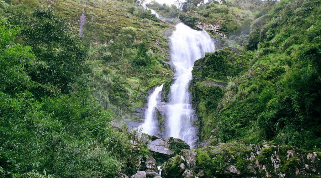 Silver Waterfall - waterval bij Sapa