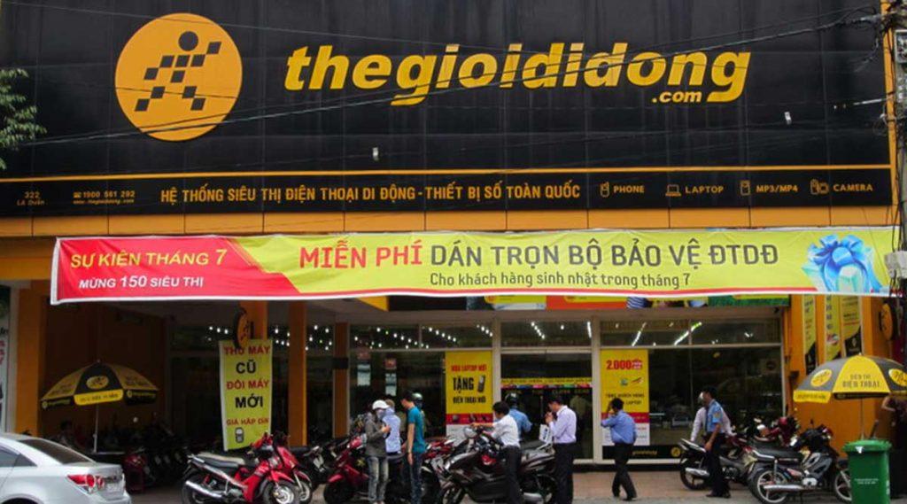thegioididong telefoonwinkel in Vietnam