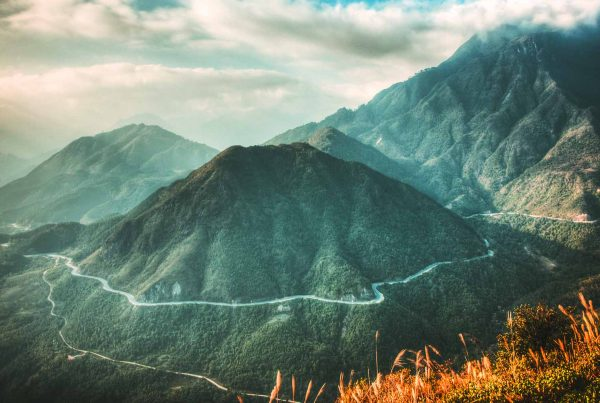 Tram Ton Pass in Sapa - Vietnam