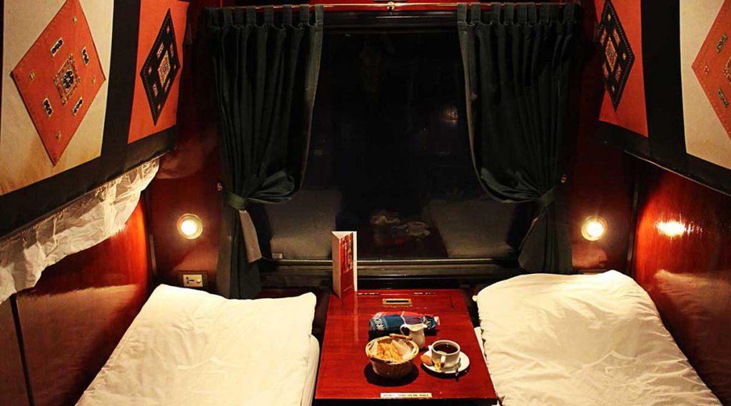 Met de trein van Trein van Hanoi naar Lao Cai