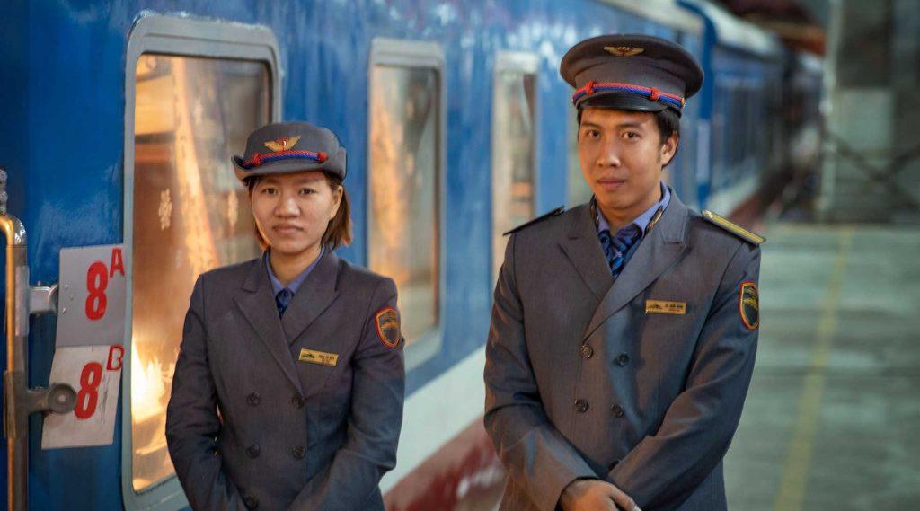 Trein van Hanoi naar Sapa