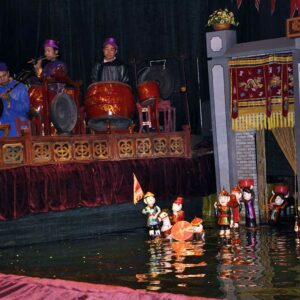 waterpoppenshow in Hanoi