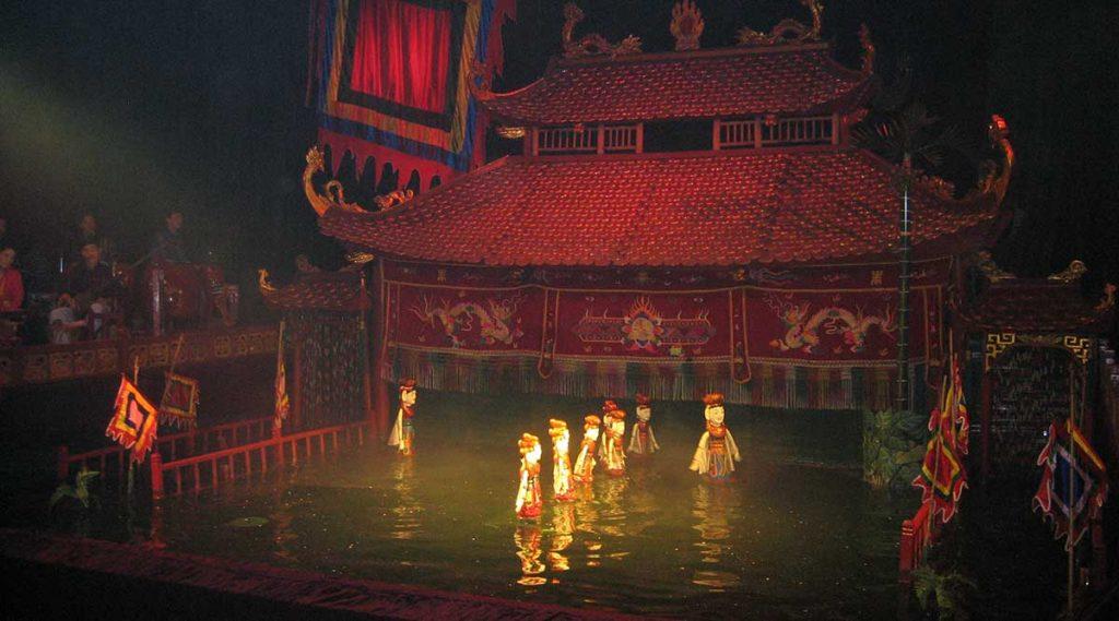 Thang Long waterpoppentheater in Hanoi