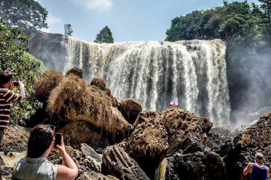 watervallen in Dalat