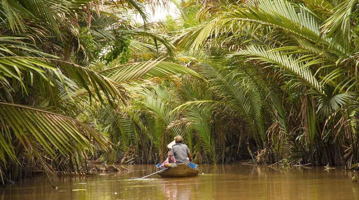 Ben Tre boottocht door de Mekong Dekta