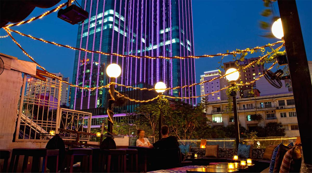 Broma: Not a Bar skybar in Ho Chi Minh City