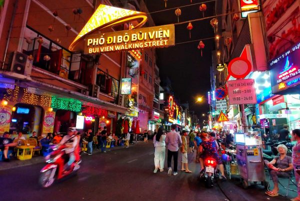 Bui Vien Street in Ho Chi Minh City