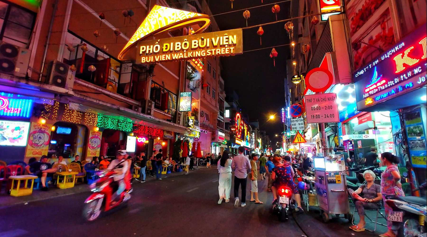Bui Vien street – De backpackerstraat van Ho Chi Minh City
