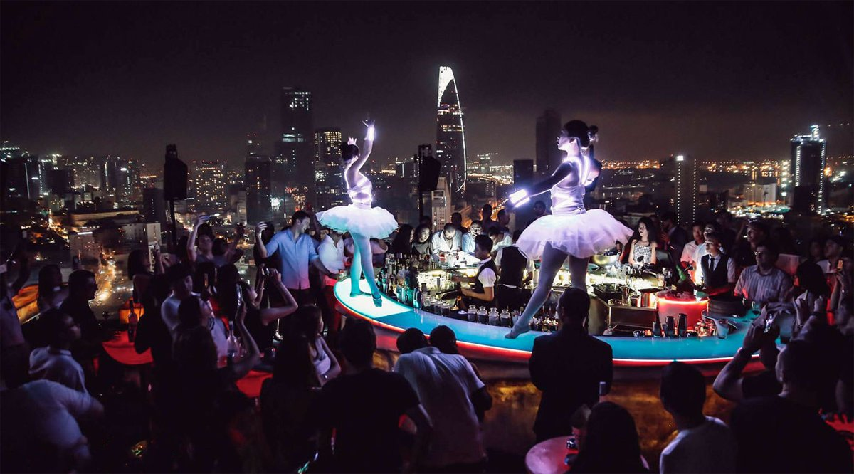 Chill Skybar in Ho Chi Minh City