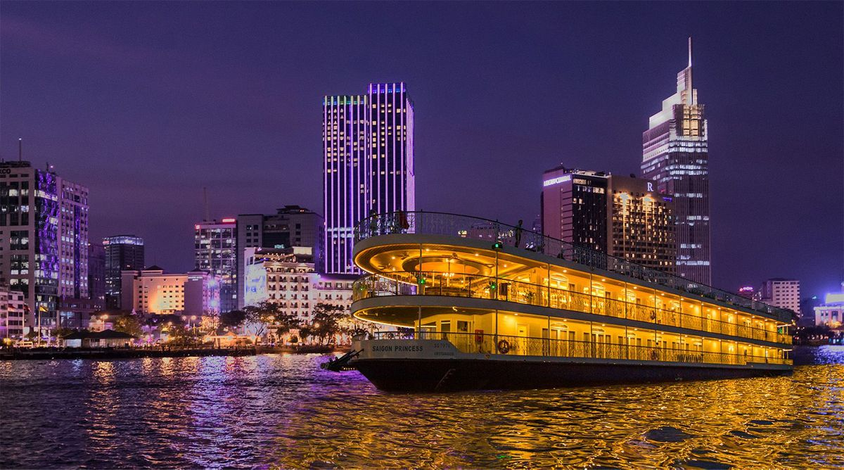 Dinner cruise in Ho Chi Minh City