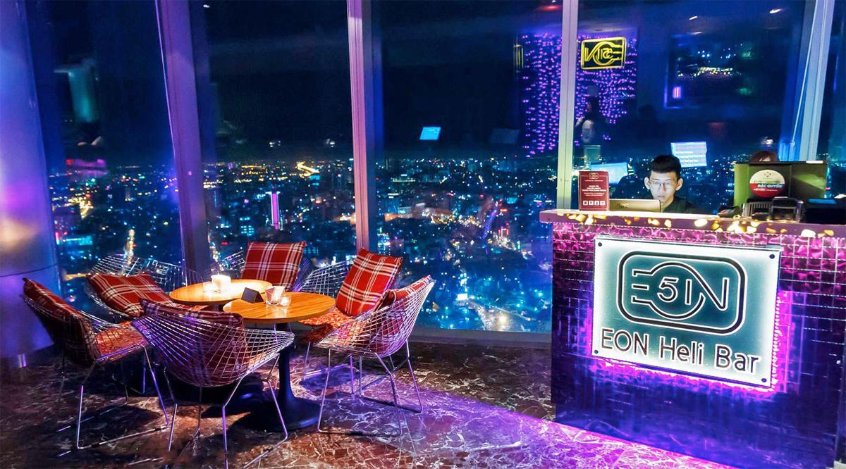 Eon Heli Bar in Bitexco