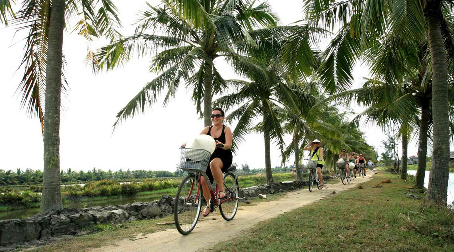 fietsen in Hoi An