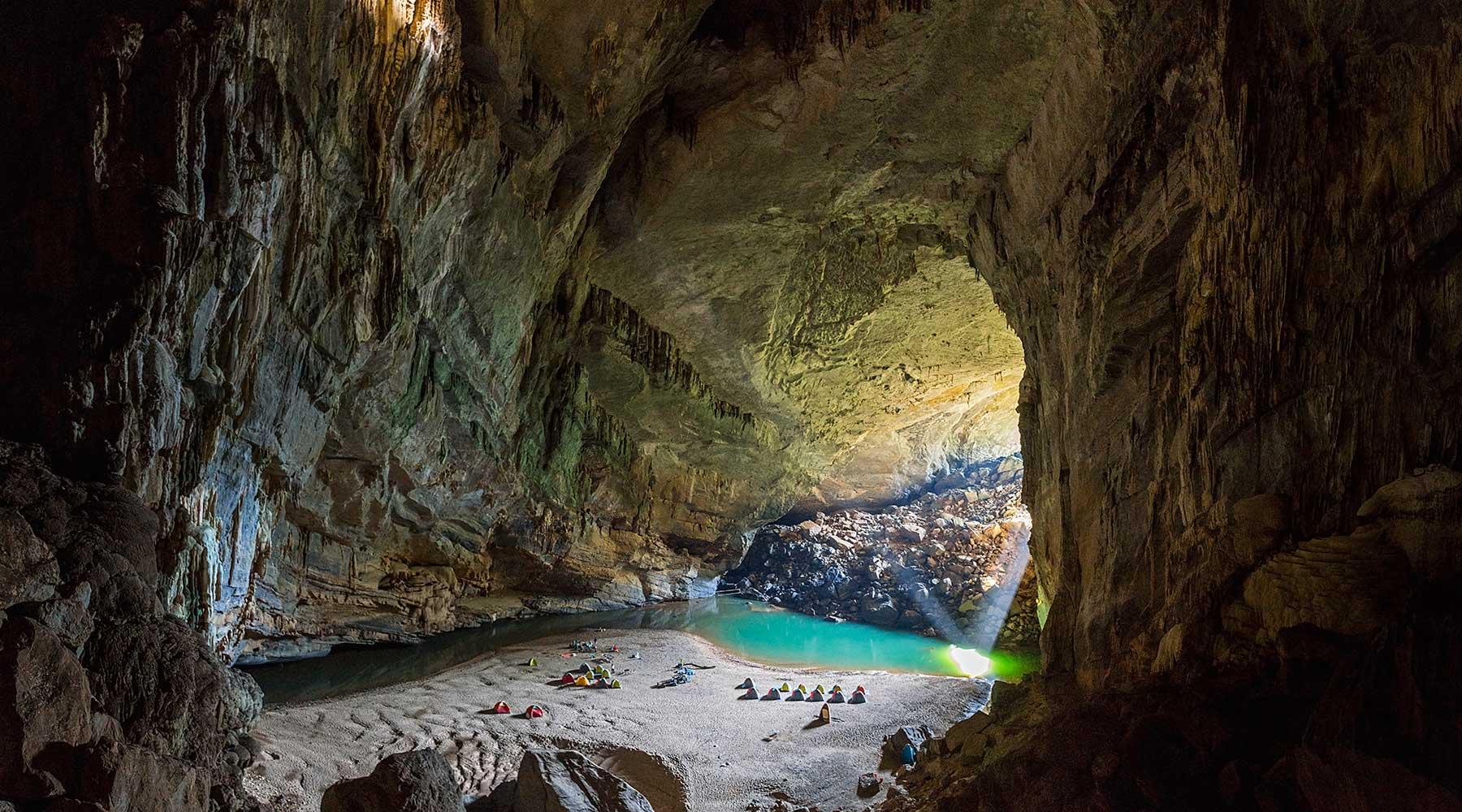 Grotten in Phong Nha