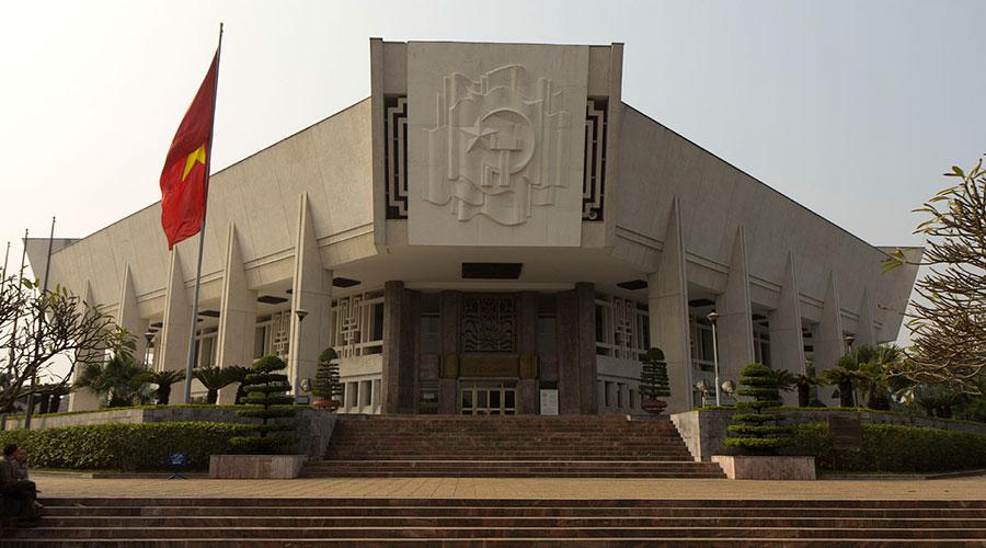Ho Chi Minh museum in Hanoi