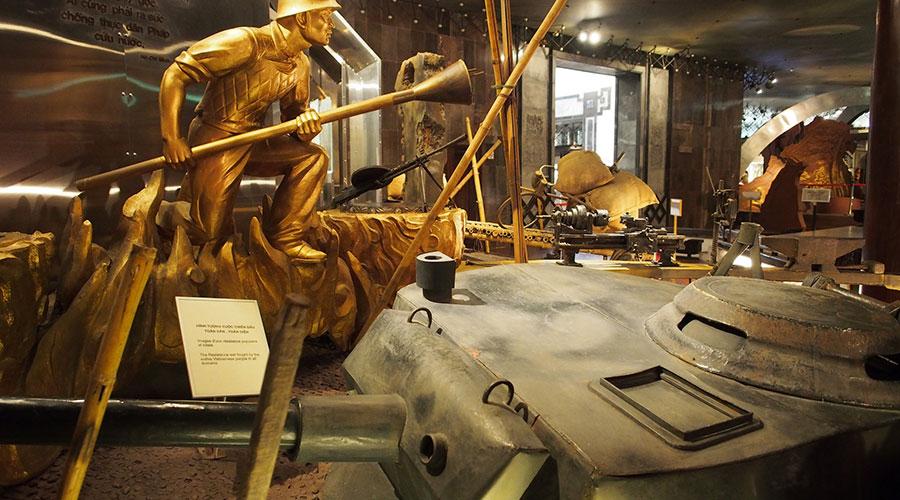 Ho Chi Minh museum oorlog