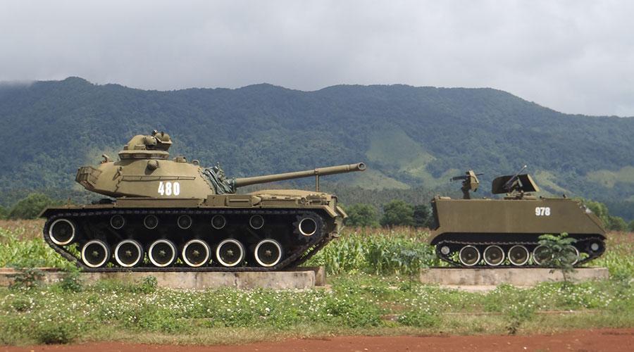 Khe Sanh Combat Base tanks