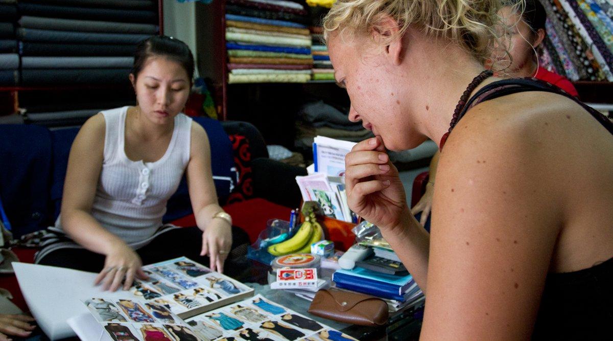 kleding maken in Hoi An