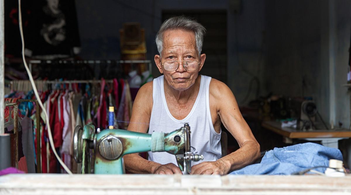 kleermaker in Hoi An