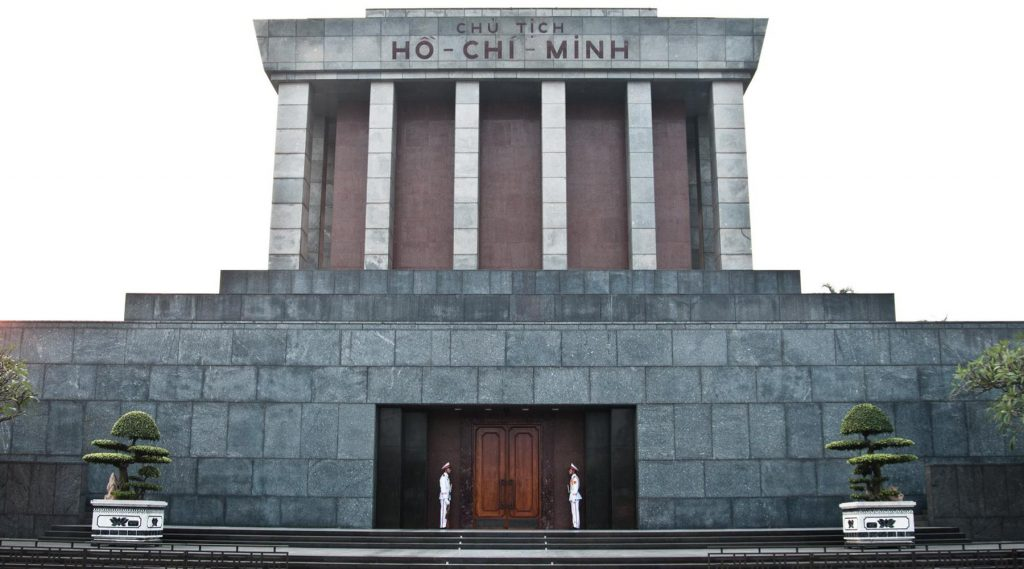 Mausoleum van Ho Chi Minh in Hanoi