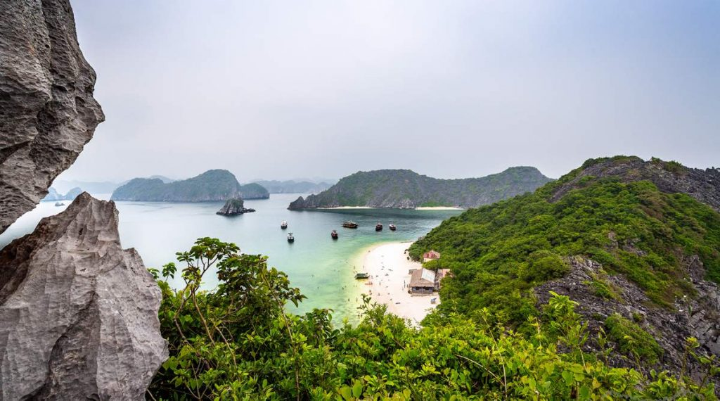 Monkey Island in Halong Bay