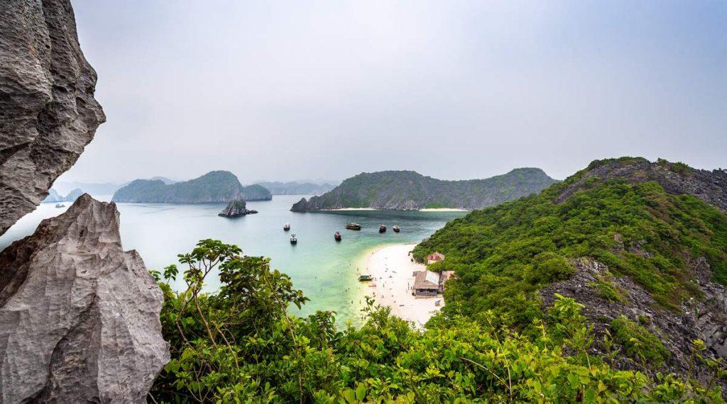 Monkey Island in Halong Bay