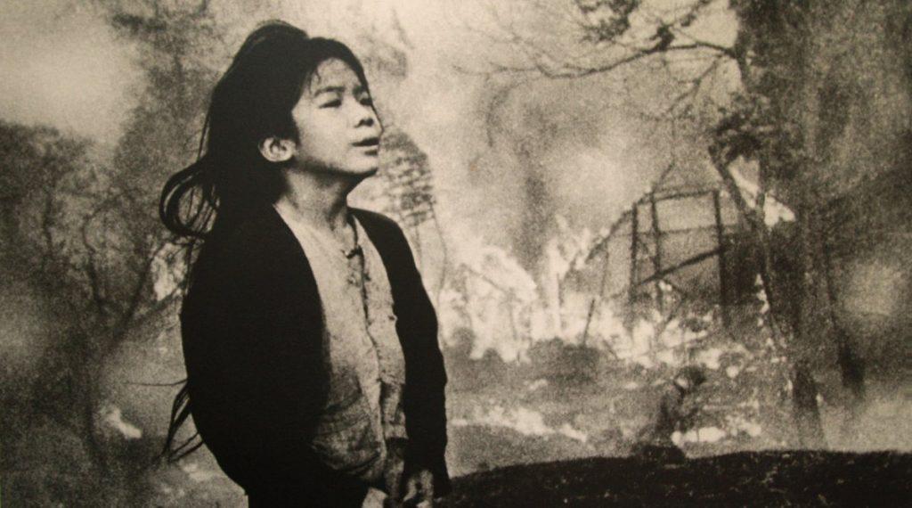Vietnam oorlog foto van meisje