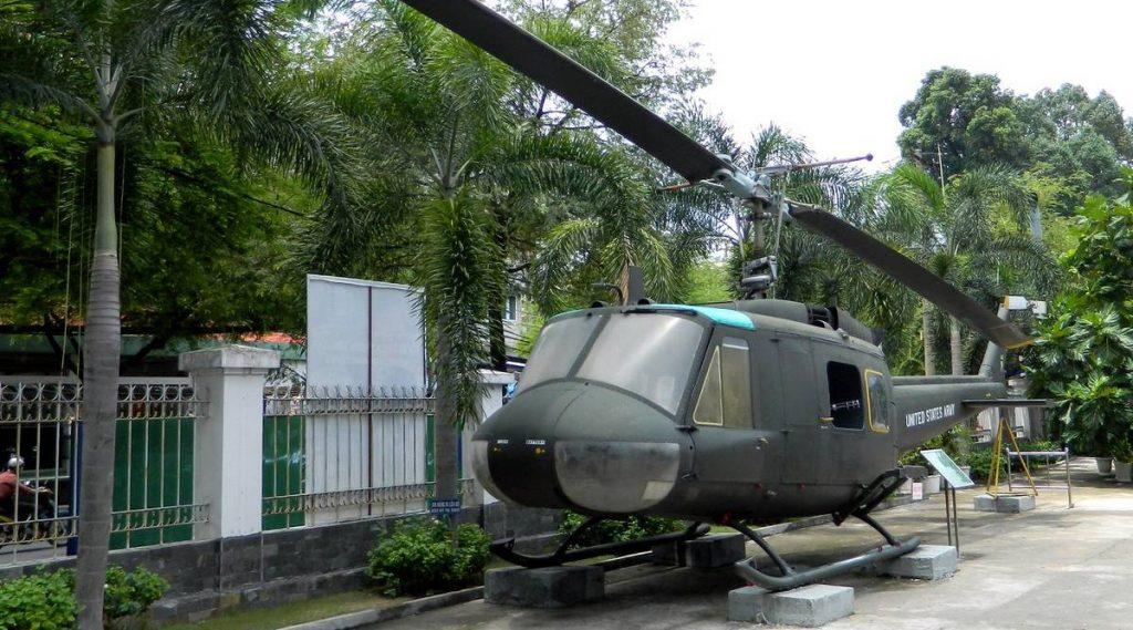 Heli in het War Remnants Museum