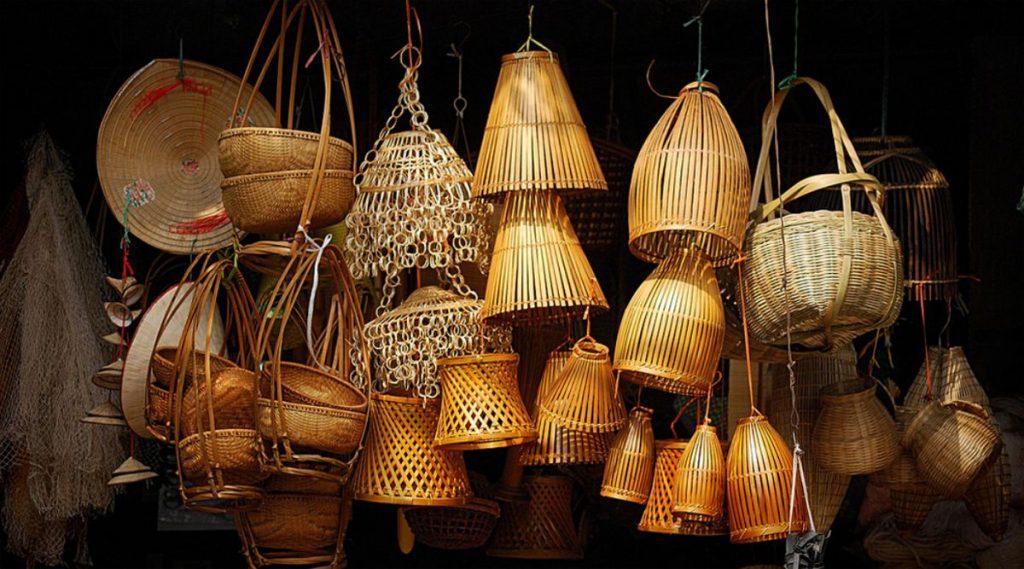 bamboe souvenirs Vietnam