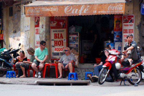Bia Hoi bier in Vietnam