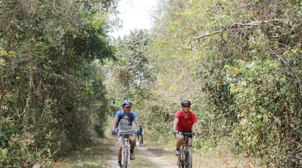 Cat Tien National Park fietsen