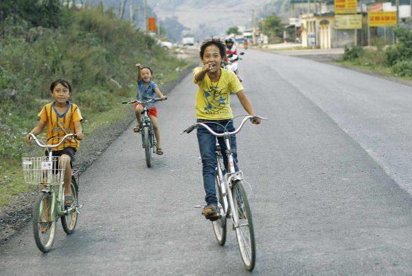Fietsen in Vietnam