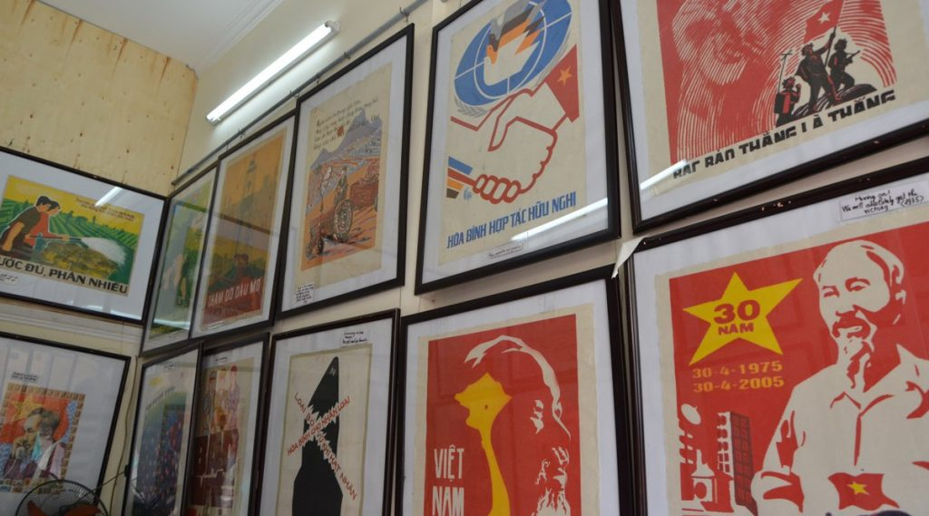 propaganda posters Vietnam