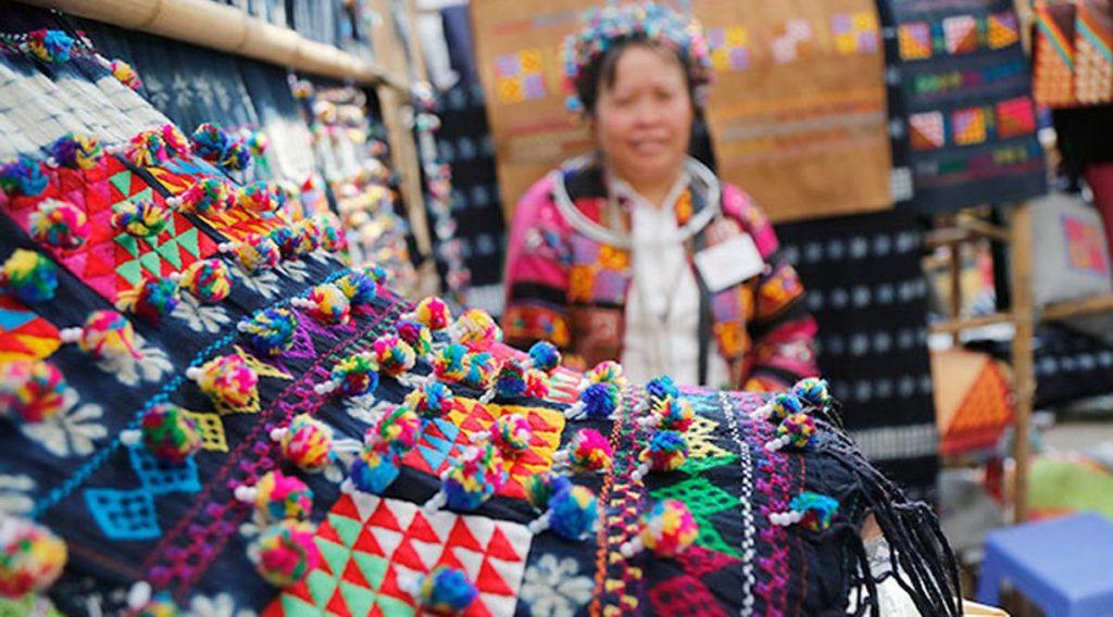 souvenirs Vietnam etnische minderheid