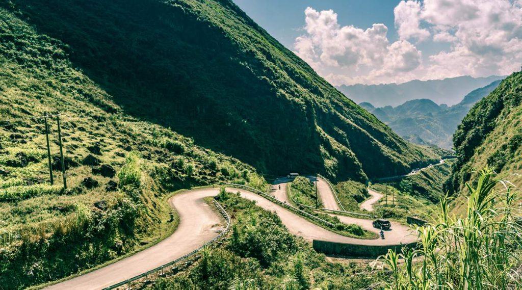 Tham Ma bergpas in Ha Giang