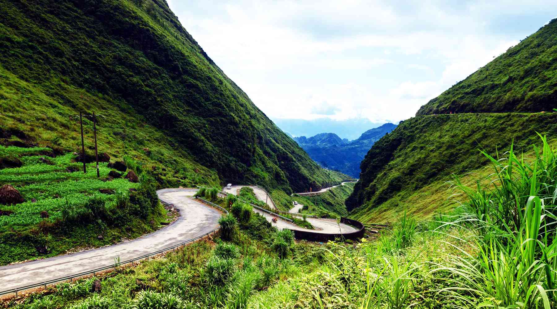 Tham Ma Pass in Ha Giang
