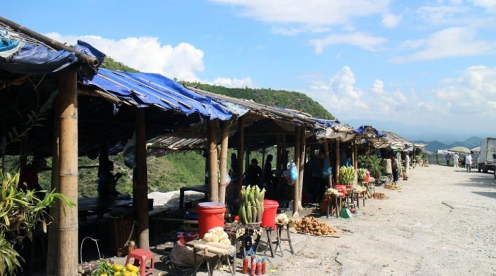 Thung Khe markt